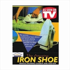 Iron Shoe Gives Ironing Easier
