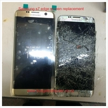 Ori Samsung A3 A5 A7 A8 2016 2017 Lcd Touch Screen Digitizer Crack