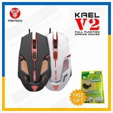 Fantech KAEL V2 2400 DPI LED Optical 6D USB Wired Gaming Mouse