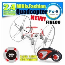 FX-5 Stunt Drone 2.4G 6-Axis Gyro 5CH RC 3 in 1 Quadcopter