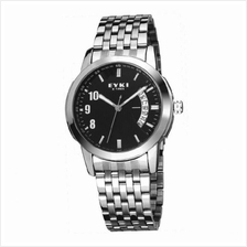 EYKI E-TIMES UNIQUE Man Stainless Steel Watch W8408BL Black