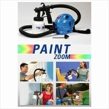 Paint Zoom Professional Electric And Paint Sprayer Pro Red Paint Gun
