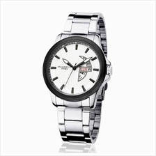 Eyki Overfly W8530G With Day Date Stainless Steel Watch Black