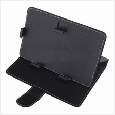 Quality Leather Case for 9  Tablet (Black)
