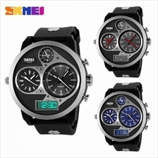SKMEI 1033 Men''s Military Sports Quartz Digital Multi Movement Watch