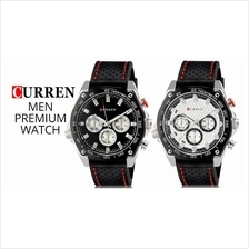 Curren 8146 Men's Premium Silicone Strap Watch