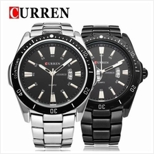 Curren 8110 Men's Stainless Steel Strap Watch