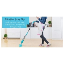 Washable Microfiber Spray Mop Clean Degerming Maintaining All in One