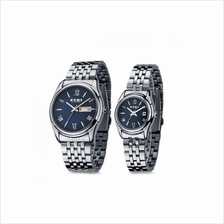 EYKI E-Times W8470 Stainless Steel Watch 1 Pair Silver Blue