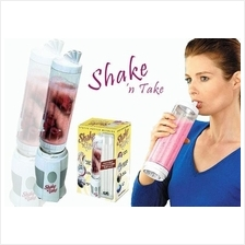 ASOTV Double 2 Bottle Shake n Take Juice Smoothie Blender !!