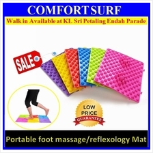 (10pcs) Healthy Portable TPE Foot Acupressure Reflexology Massage Mat