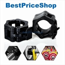 Olympic Barbell Collars Clamp Lock Dumbbell Bar Weight Lifting 5cm