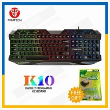 Fantech Hunter K10 USB LED Lighting Metal USB Gaming Keyboard