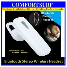 Bluetooth Wireless Stereo Headset Ear HandFree Earphone Headphone Comf