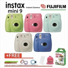 FujiFilm Instax Mini 9 Instant Camera Polaroid FREE 6 items