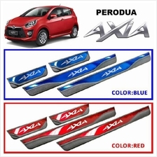 PERODUA AXIA Plug&Play Color Stainless Steel Door Side Sill Step Plate