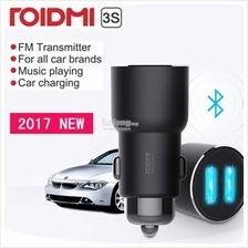 Xiaomi RoidMi 3S BFQ04FM 5 in 1 Music Bluetooth Car Charger SmartDrive