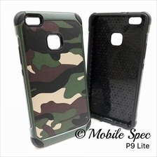 Huawei P9 P10 Plus Lite Camouflage Army Case Cover