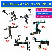 Ori Iphone 4 4S 5 5S 5C Se 6 6S 7 Plus On Off Power Button Ribbon