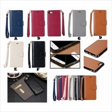 iPhone 6 6S 7 7 Plus Flip Card Wallet Leather Back Case Cover *FREE SP