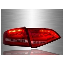 AUDI A4 B8 2009 - 2012 RED CLEAN LED Light Bar Tail Lamp [TL-220]