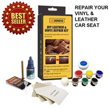 LOCBONDSO DIY AUTOMOTIVE CAR SEAT LEATHER VINYL REPAIR KIT LEATHER RES