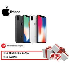 iPhone X 64GB/256GB New Import Set [1 Year APPLE Warranty ]