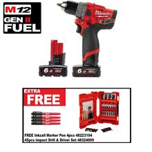 MILWAUKEE M12 GEN 2 CORDLESS PERCUSSION DRILL FPD 602C
