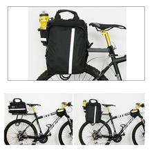 Giant Expandable Bicycle Pannier Saddle Bag with Rain Cover