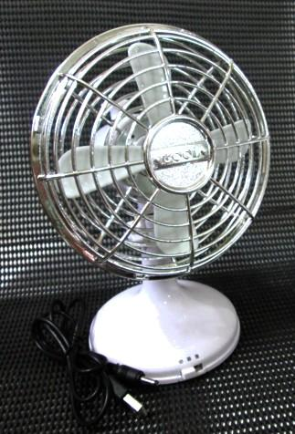 Strong Wind Classic USB/Battery Mini Fan Angle Adjustment