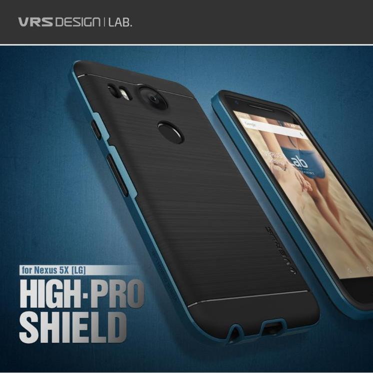 the verus high pro shield series nexus 5x case satin silver 1 other