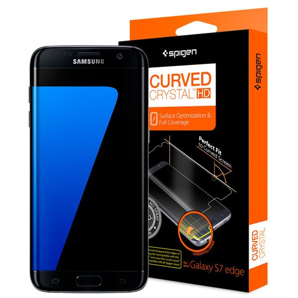 others spigen curved crystal hd screen protector for galaxy s7