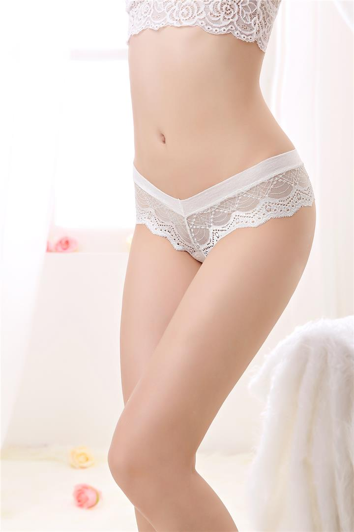 00231 Best-selling Lace Embroidered Flower G-String