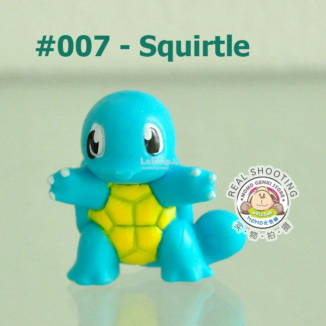 [007-Squirtle] Pokemon Pikachu Collective Figures Toy Doll