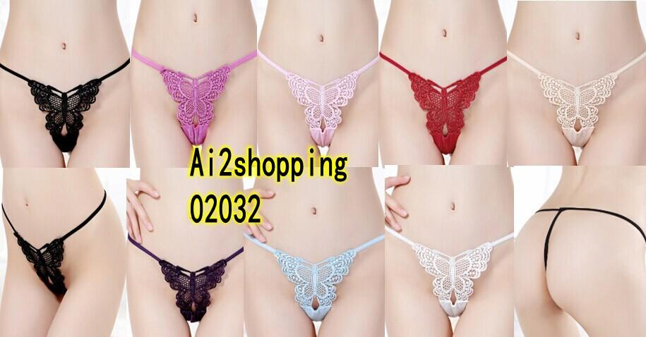 02032Sexy Lady G-string Panty T trousers Underwear T-string