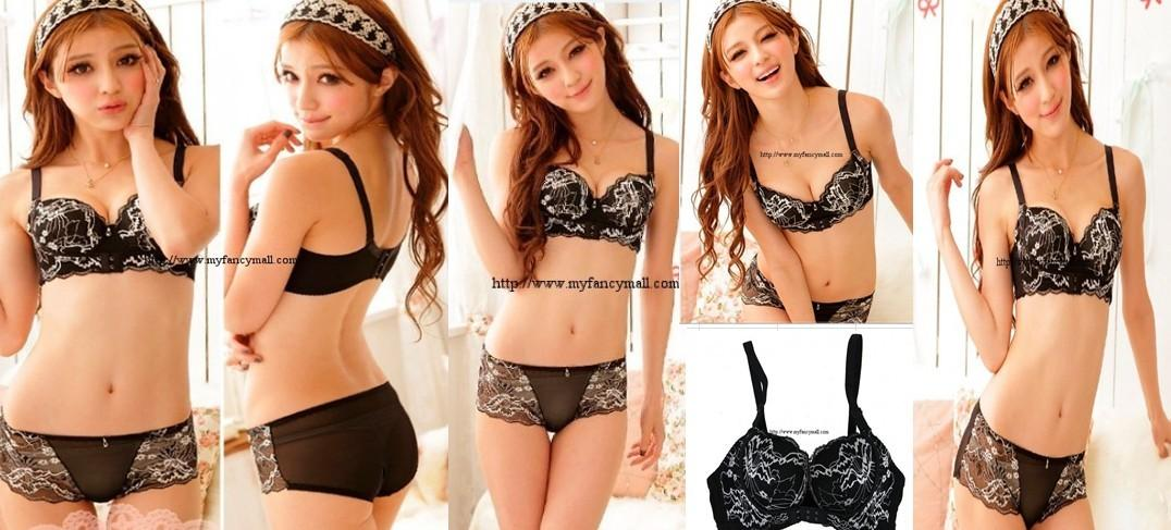 02281 Japan Korea Sexy Bra Underclothes Undergarment Corset Push Up