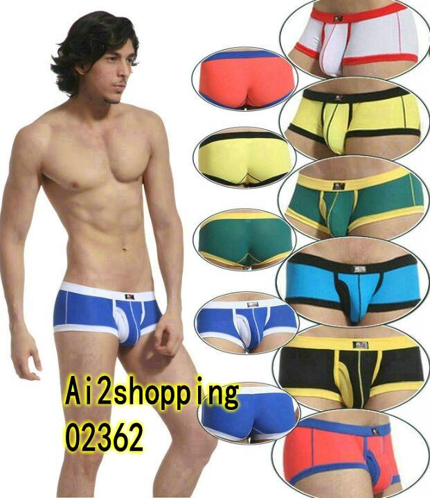 02362Sexy G-string Men Underwear Boxer underwear cotton Briefs