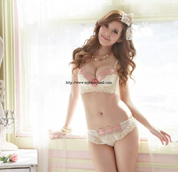 02477 Japan Korea Underwear Shaping Adjust Gather UP T Bra Temptation