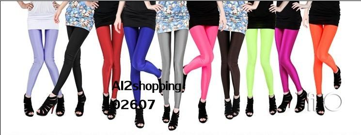 02607U.S Sought after wild significant lanky stretch Slim Leggings