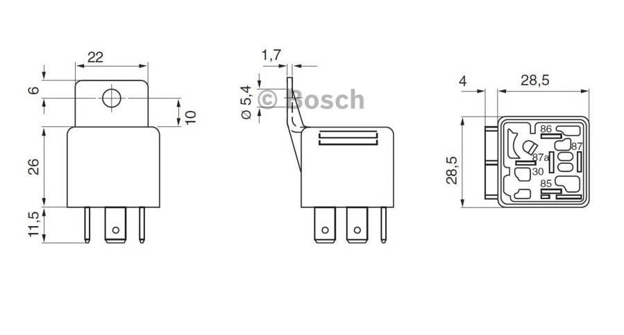 0332019150 Original Bosch Relay (Exclusive Distributor)