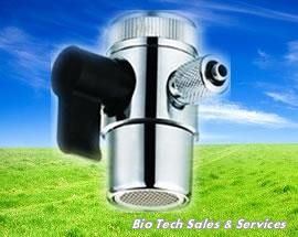"1/4"" 1 Way Diverter With Plastic Handle & Nut (Water filter Malaysia)"