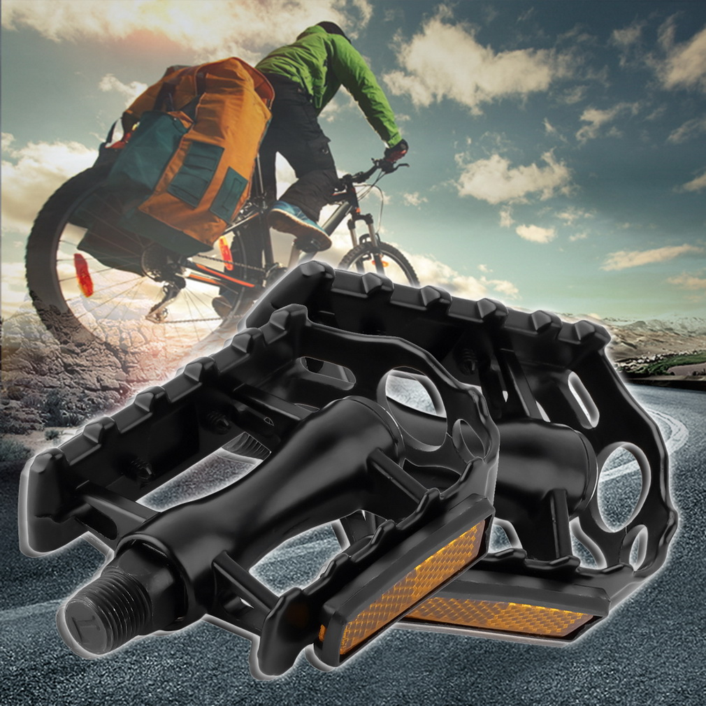 "1 Pair Aluminium Alloy Mountain Road Bike Bicycle Cycling 9/16"" Pedals.."