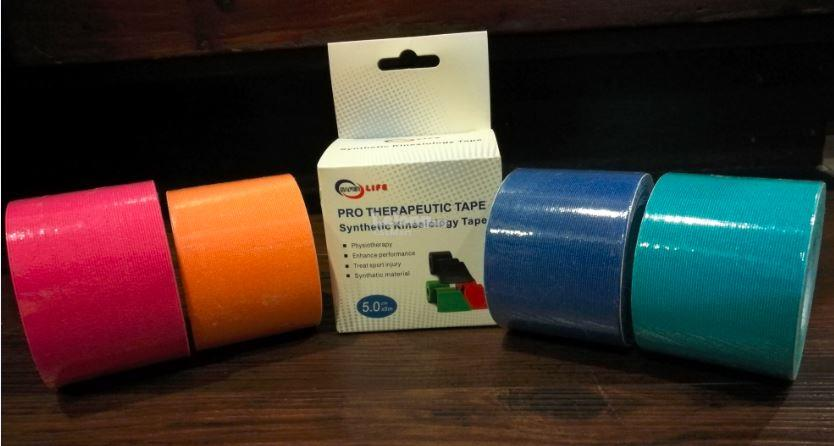 1 roll of Synthetic Kinesiology Tape (4 colours available)