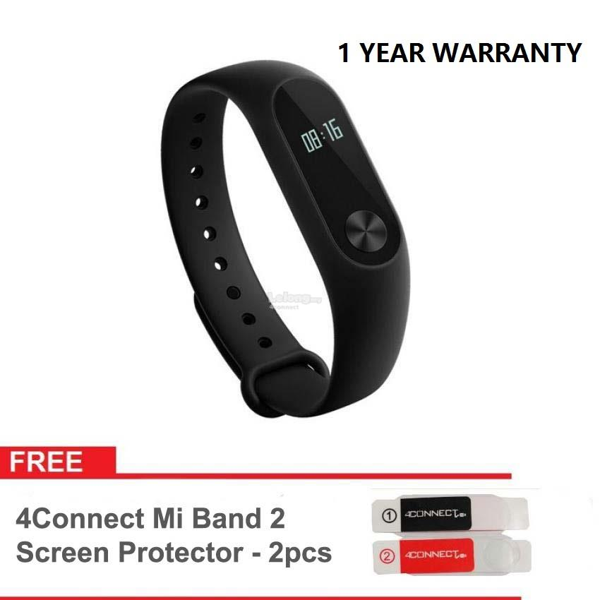 [1 Year Warranty] ORIGINAL Xiaomi Mi Band 2 Smart Bluetooth Smartband