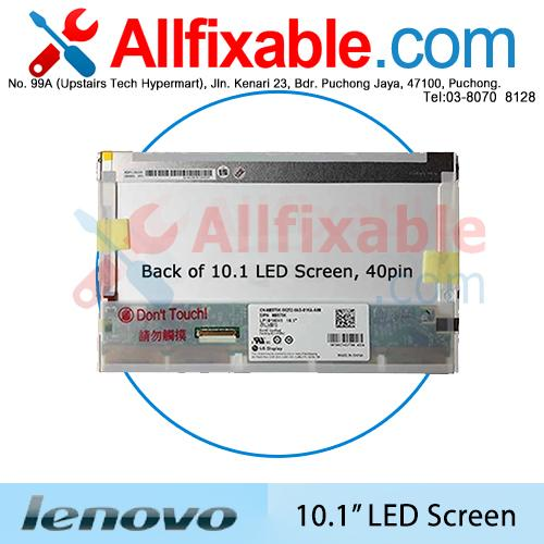 "10.1"" LED LCD (40pin) Screen For Lenovo IdeaPad S10-2 S10E S10G"