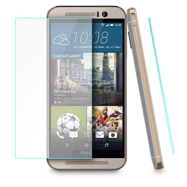 100% Genuine Tempered Glass Screen Protector Guard For HTC M9 Plus