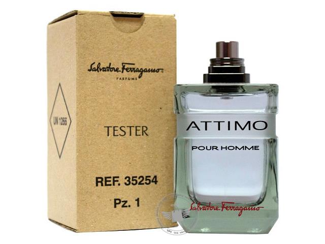 *100% Original Perfume Tester Unit*SF Attimo Pour Homme 100ml Edt Spr