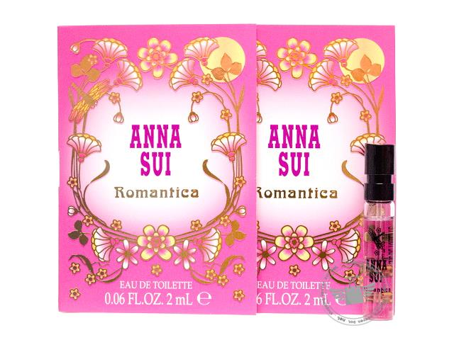 *100% Original Perfume Vials*Anna Sui Romantica 2ml Edt Spray x2