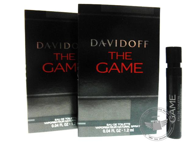 *100% Original Perfume Vials* Davidoff The Game 1.2ml Edt Spray  x2