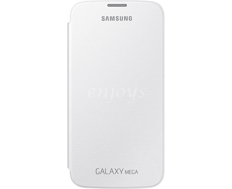 100% ORIGINAL SME SAMSUNG Flip Cover Case I9205 Galaxy Mega 6.3 ~WHITE